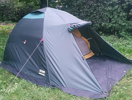 Палатка для туризма, охоты, рыбалки Атолл-автомат-3