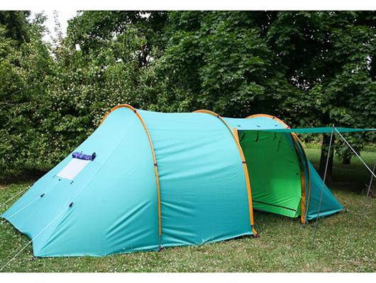 Кемпинговая палатка Прерия-тандем 3+2