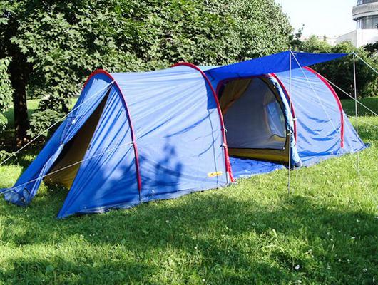 Кемпинговая палатка Прерия-тандем 3+3