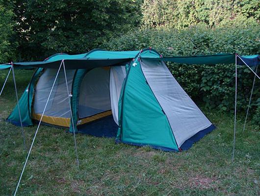 Кемпинговая палатка Прерия-4