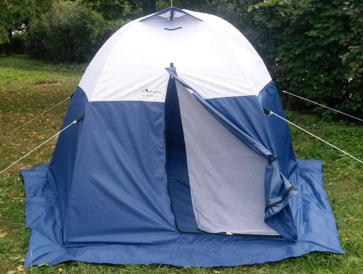 Палатка для туризма, охоты, рыбалки Тайга-автомат 3