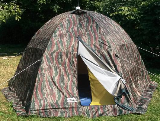 Палатка для туризма, охоты, рыбалки Тайга-автомат 4
